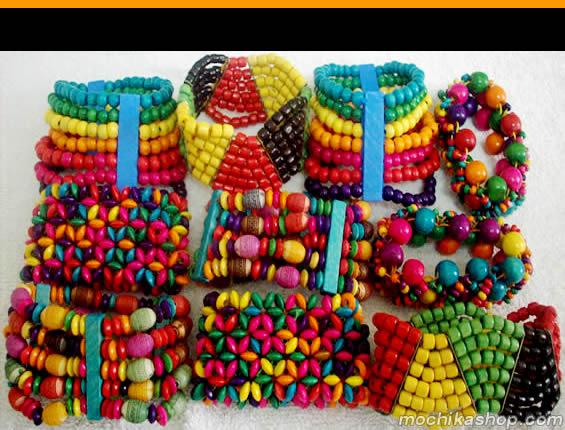 6 Pretty Wood Bracelets
