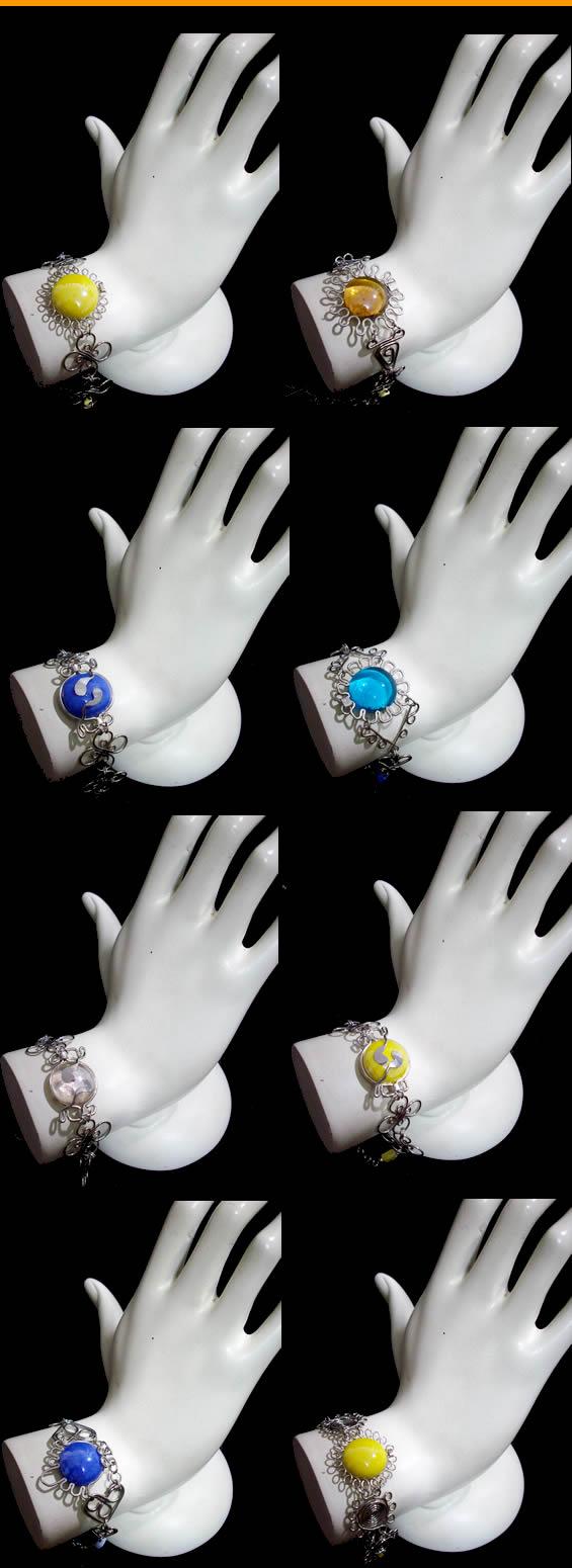 10 Gem Stone Bracelets