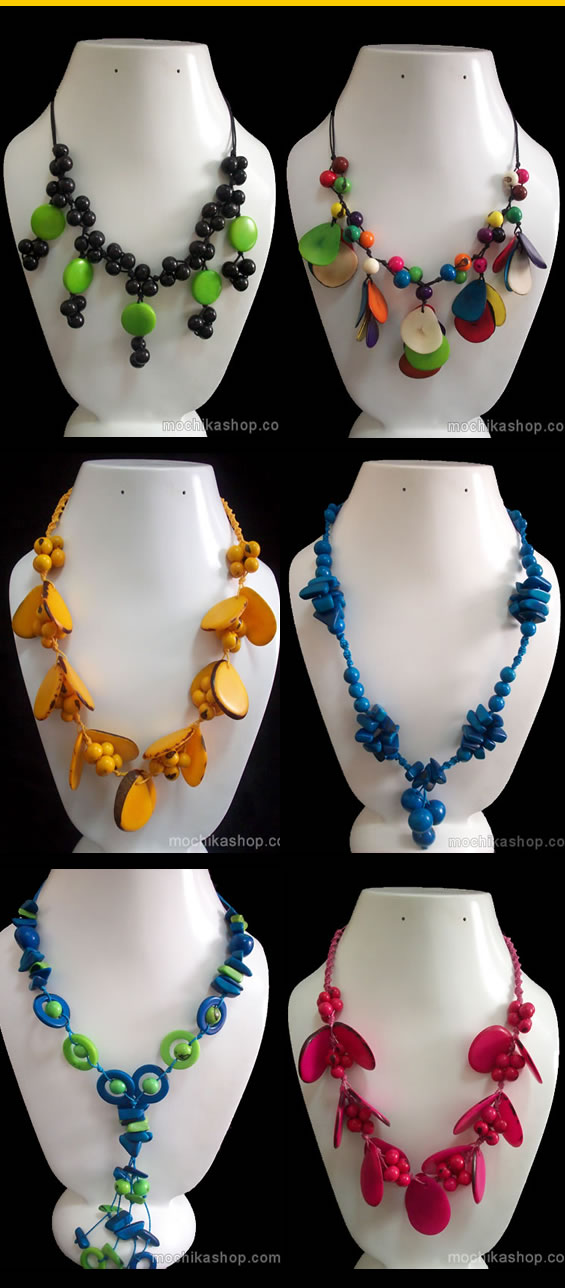 24 Necklaces of Tagua
