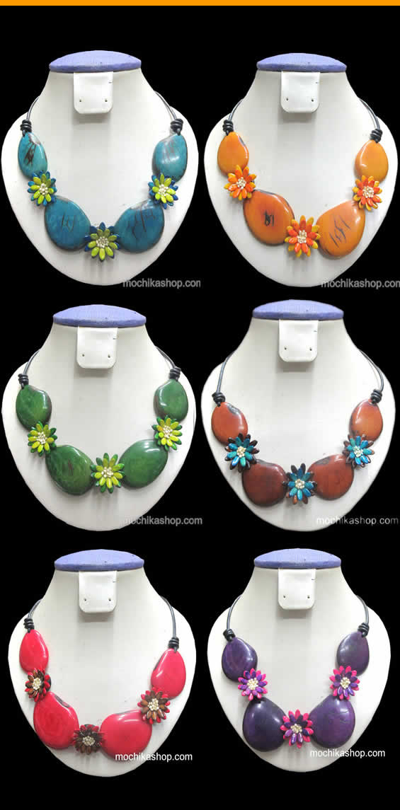12 Necklaces of Tagua
