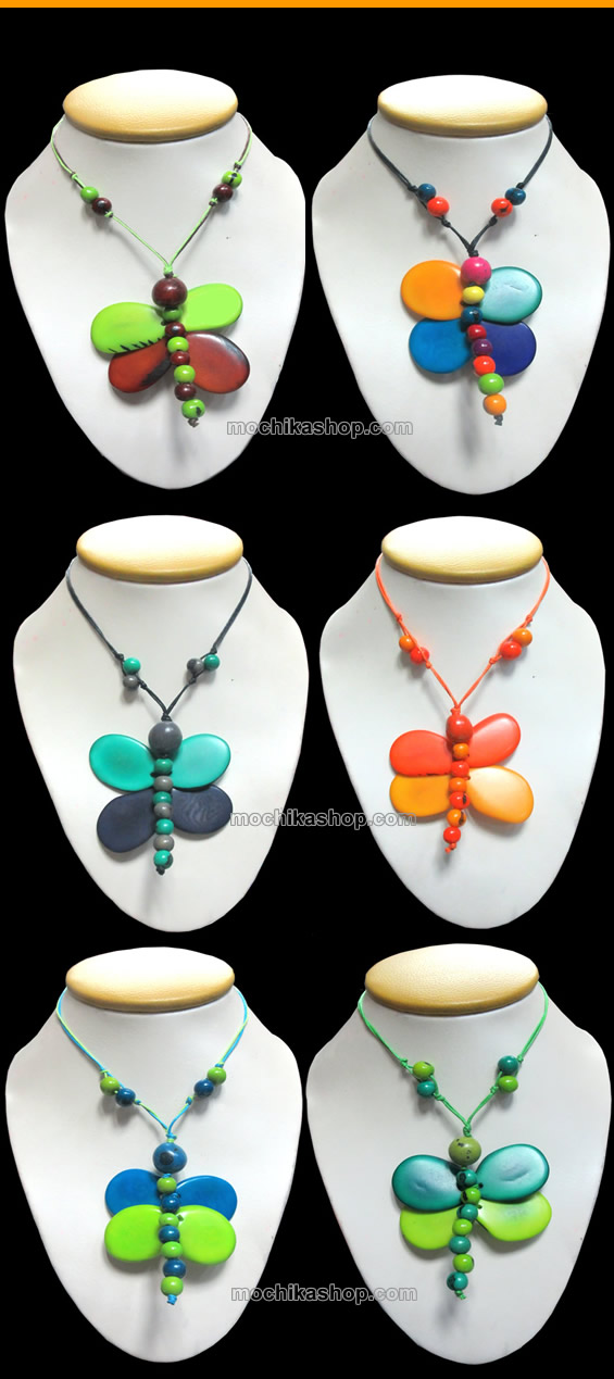 6 Necklaces of Tagua