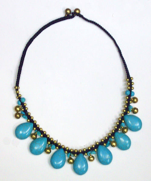 Chokers made of Chinese Turquoise Stone (14C)