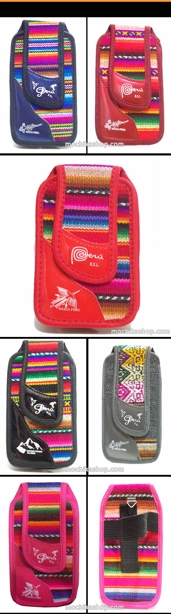12 Cell Phone Pouches